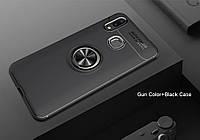 Тонкий бампер с кольцом AUTO FOCUS для Samsung Galaxy A20 (SM-A205F) / Samsung Galaxy A30 (SM-A305F)