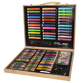 Набор для творчества 150 предметов / Карандаши цветные / Краски/ Фломастеры