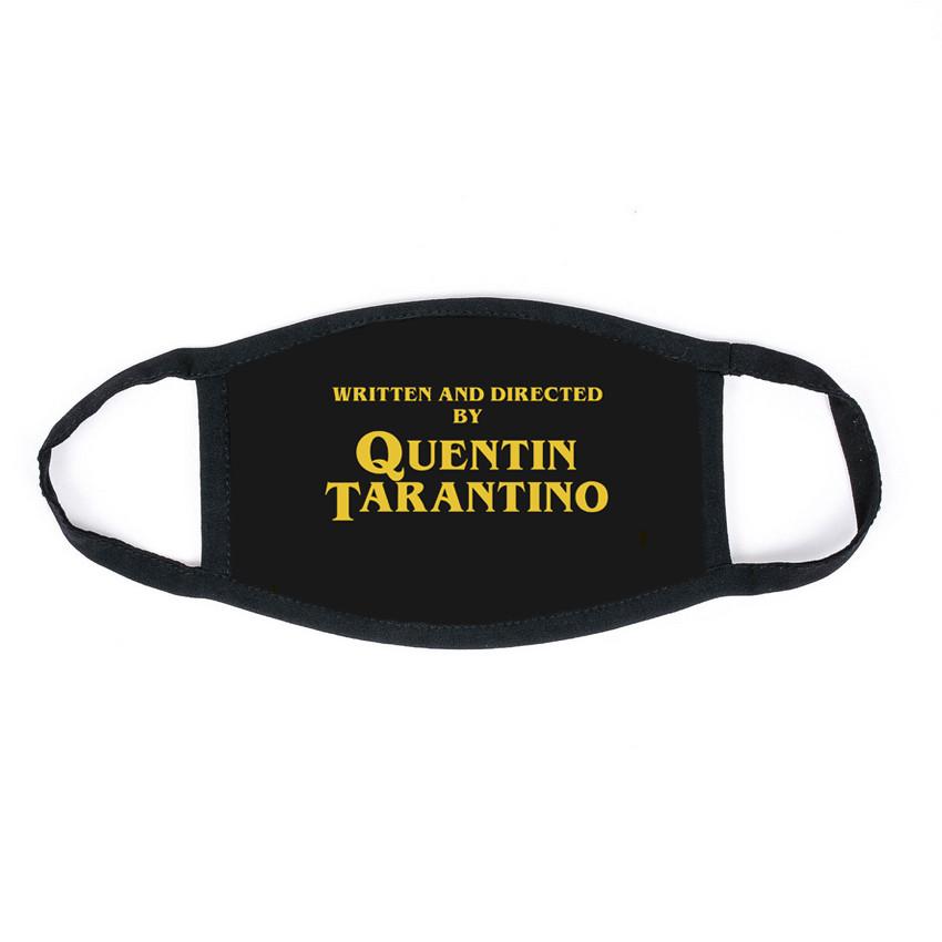 Маска на обличчя Пушка Огонь Тарантіно чорна