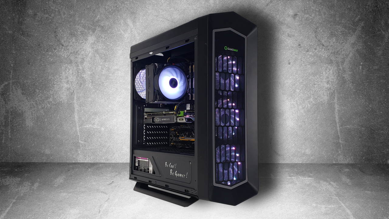 "Игровой компьютер KIEV-IT™ ""Ranger White"" i7 9700F | Z390 | GTX 1080 | DDR4 16GB | NVMe 256GB | HDD 1TB"