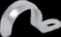 Скоба металева однолапковая d10-11мм