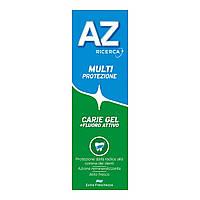 Зубная паста AZ Multi-Protezione Кариес гель + активный фтор, 75+25мл