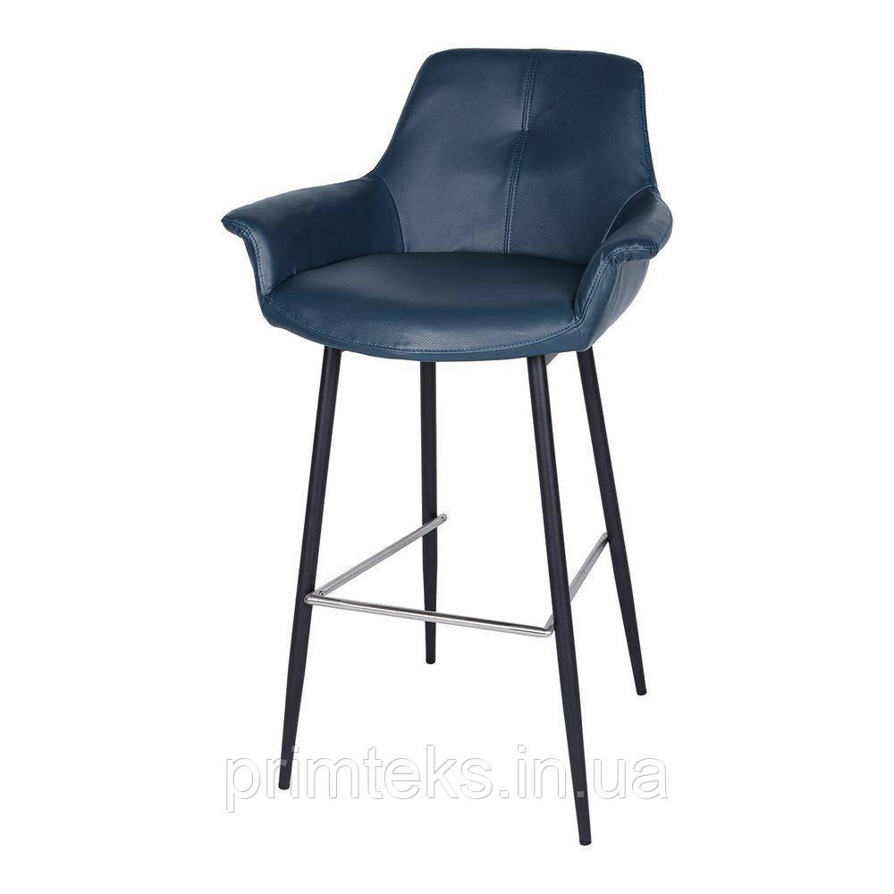 Барный стул TORRES (Торрес) синий антрацит
