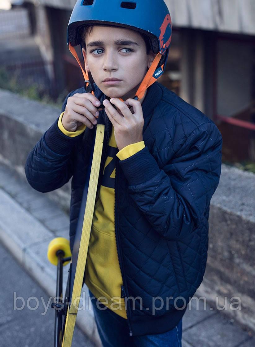 Демісезонна куртка бомбер для хлопчика