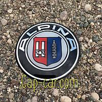 3D наклейка для дисків BMW Alpina. 65мм