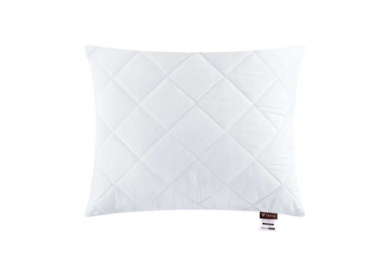 Подушка холлофайбер 40x60 середньої жорсткості Comfort Standard IDEIA