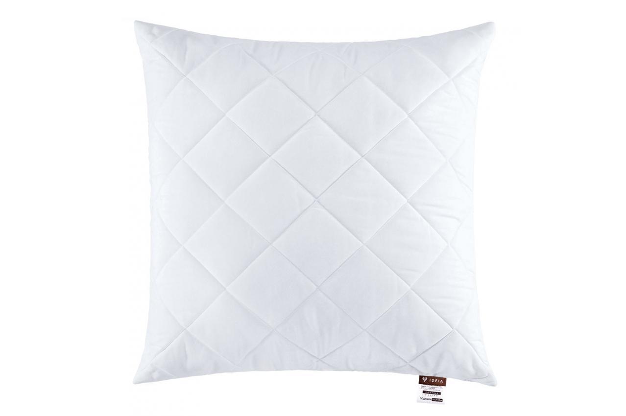 Подушка холлофайбер 70x70 середньої жорсткості Comfort Standard IDEIA