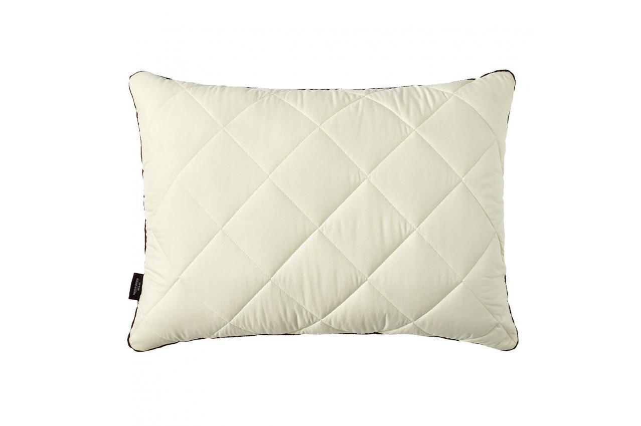 Подушка холлофайбер 50x70 мягкая/средней жесткости двухкамерная Comfort Double Chamber IDEIA