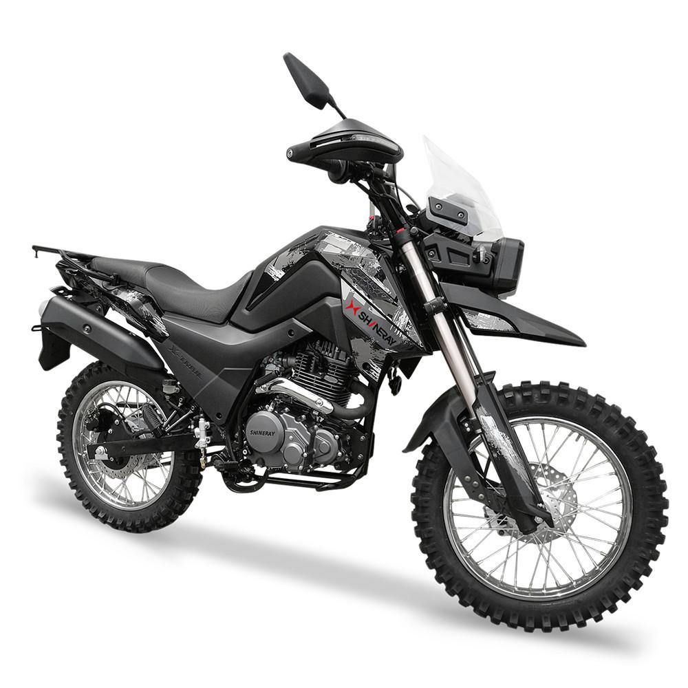 Мотоцикл Shineray X-Trail 250 Trophy Черный