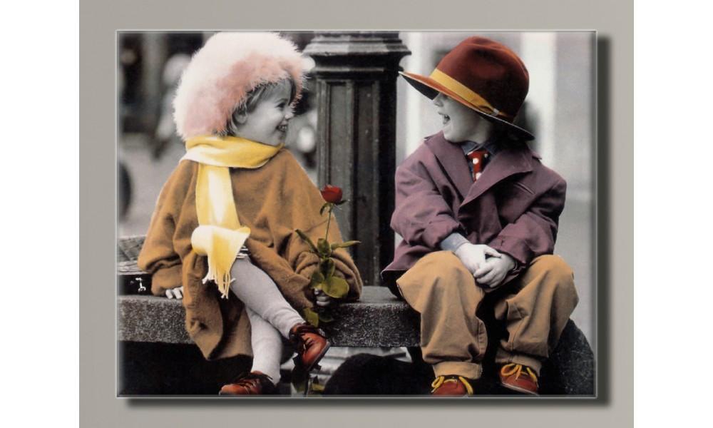 Картина на холсте Ретро дети от Kim Anderson 15  для интерьера
