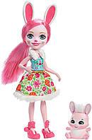 Кукла Энчантималс кролик Enchantimals Bree Bunny Doll