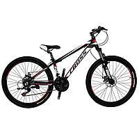 🚲Горный алюминиевый велосипед CROSS HUNTER DD 2019 (21 speed, Lockout, Shimano); рама 15; колеса 26, фото 1
