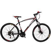 🚲Горный стальной велосипед найнер TITAN PORSCHE ECO (Shimano, моноблок); рама 19,5; колеса 29, фото 1