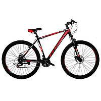 🚲Горный стальной дисковый велосипед TITAN SPIDER DD (Shimano, моноблок); рама 20; колеса 29, фото 1