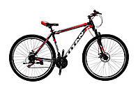 🚲Горный стальной дисковый велосипед TITAN STREET DD (Shimano, моноблок); рама 20; колеса 29, фото 1
