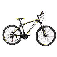 🚲Подростковый алюминиевый велосипед TITAN SCORPION (Shimano,Lockout, моноблок); рама 12; колеса 24, фото 1