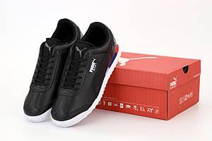 Мужские кроссовки Puma Roma BMW Motorsport черного цвета