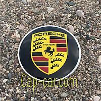 3D наклейка для дисків Porsche. 65мм
