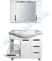 Мини-комплект мебели AQUAZIS Гренада 85см Т-17 Z11 С КОРЗИНОЙ.Мы Производитель.