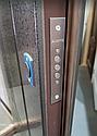 """Двери входные """"Стильные двери"""" серия Стандарт-F Гранат, фото 5"""