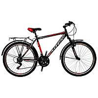 🚲Горно- городской стальной велосипед TITAN SONATA (21 SP, Shimano); рама 19; колеса 26, фото 1