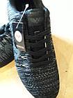 Кроссовки Bonote р.42 текстиль сетка чёрные, фото 6