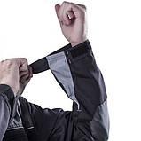 Куртка SteelUZ (чорна з сірими елементами), фото 2