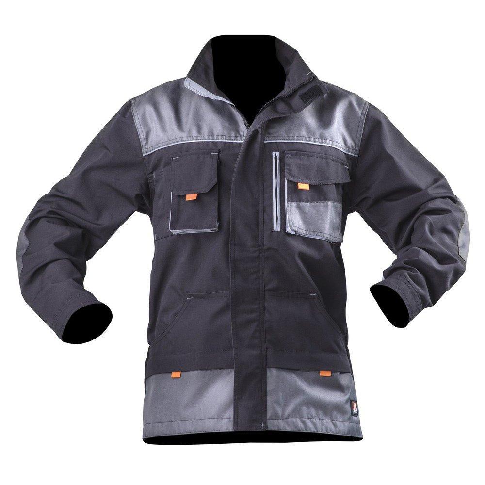 Куртка SteelUZ (чорна з сірими елементами)