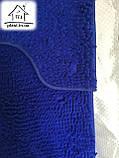 Набір килимків для ванної кімнати Локшина 90*60 см (синій), фото 2