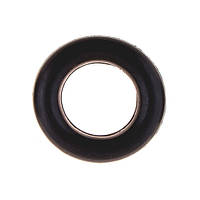 Эспандер кистевой, резиновое кольцо, D=8,5см, черный.