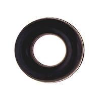 Эспандер кистевой, резиновое кольцо, D=9,5см, черный.
