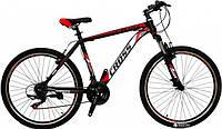 🚲Горный стальной велосипед CROSS ATLAS (Shimano, полуавтоматы); рама 19; колеса 26, фото 1