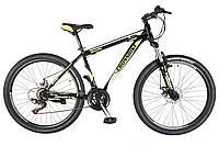 🚲Горный стальной велосипед CROSS SHARK (Disk, моноблок, 21 speed); рама 11; колеса 26, фото 1