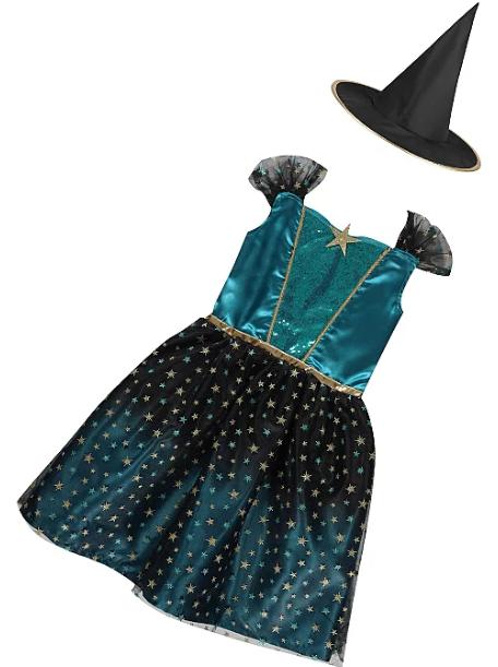 Карнавальный Костюм Маленькой Ведьмочки (Англия) George Witch Fancy Dress Costume