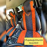 Накидки на сиденья автомобильные из алькантары, фото 2