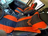 Накидки на сиденья автомобильные из алькантары, фото 3
