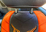 Накидки на сиденья автомобильные из алькантары, фото 4