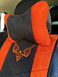 Накидки на сиденья автомобильные из алькантары, фото 5