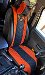Накидки на сиденья автомобильные из алькантары, фото 6