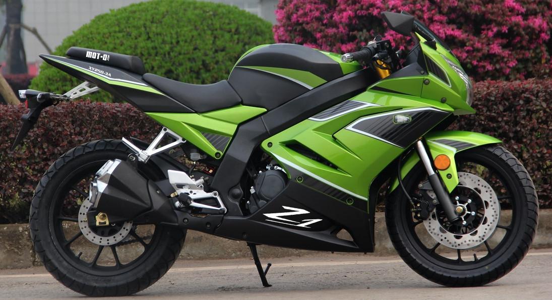 Мотоцикл Shineray  Z1 250 Lemon Green Pearl