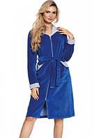 Халат жіночий , довгий, ТМ De Lafense, Польща Розмір L,XL,XXL, фото 1