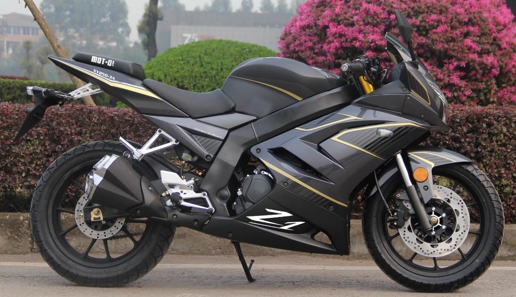 Мотоцикл Shineray Z1 250 Matt Graphite