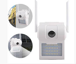 Уличная настенная IP WI FI камера светильник D2 - 2 mp (6949)