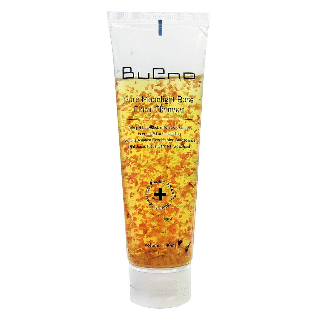 Гель для умывания с лепестками роз Bueno Pure Moonlight Rose Floral Cleanser