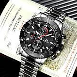 MegaLith Чоловічі годинники MegaLith Whiskey Black, фото 3
