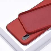 Силиконовый чехол SLIM на Samsung A40s Camellia