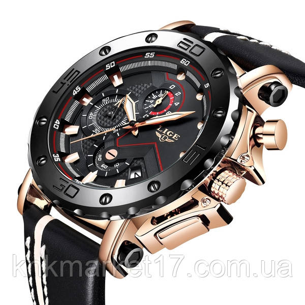 Lige Чоловічі годинники Lige Bali