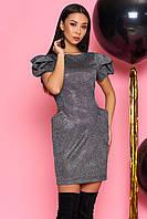 Красивое вечернее платье 2020  цвет: черный, размер: S, M, L