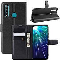 Чехол-книжка Litchie Wallet для Vivo Z5X / Z1 Pro Black