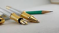 Ручка чернильная, шариковая, гелевая, ролер. Перьевая